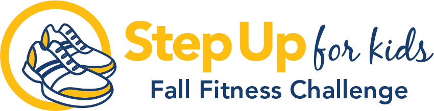 Step up for Kids Fall Fitness Challenge - Virtual Fitness Event Logo