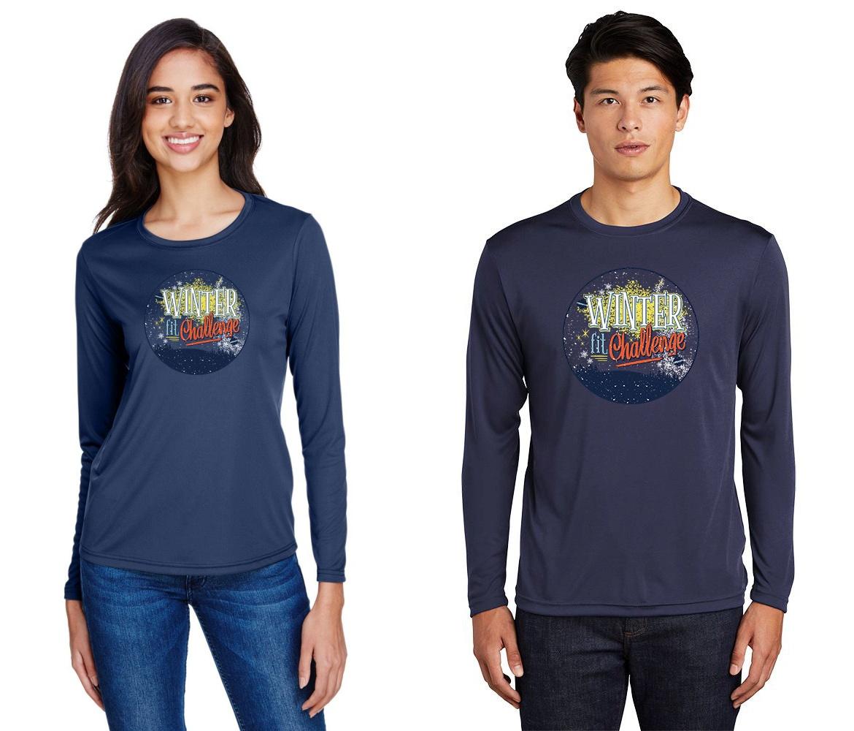 Winter Fit Challenge T-shirts