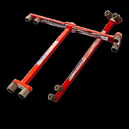 "Rack-A-Tiers 3//4/"" Hoppy Bender Conduit Bender Tool 3 /& 4 Point Saddles 57075"