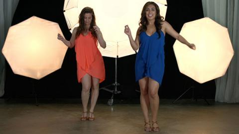 Aprende a Bailar: Salsa (Parte 1) - Paso a Paso con Lorena Kichick - Baile
