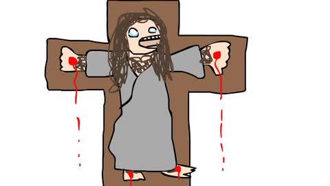 How To Draw Zombie Jesus - Oliver Age 24
