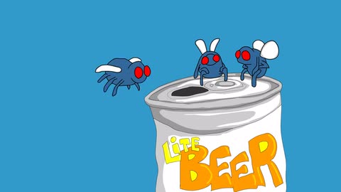 Super Fliege 2 - Joe Cartoon