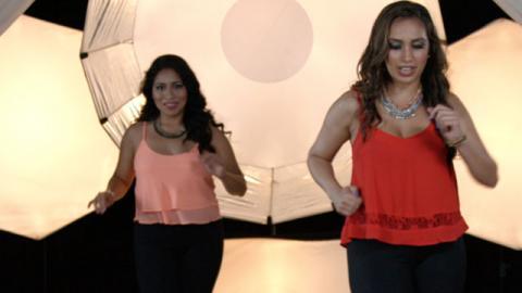 Aprende a Bailar: Merengue (Parte 1) - Paso a Paso con Lorena Kichick - Baile