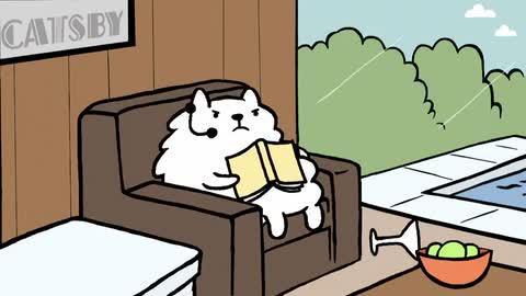 CAT AGENT - George Clooney's Cat (Episode 4) - Rug Burn