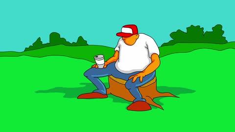 3 Drunk Flies (Remastered in HD) - Joe Cartoon