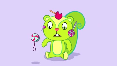 Nutty's Party Smoochie - Happy Tree Friends
