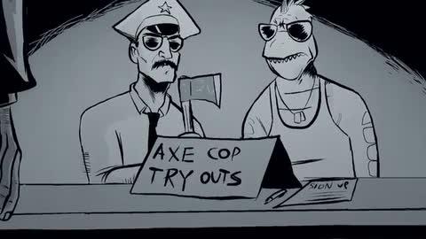 Axe Cop - Folge 2 - Rug Burn