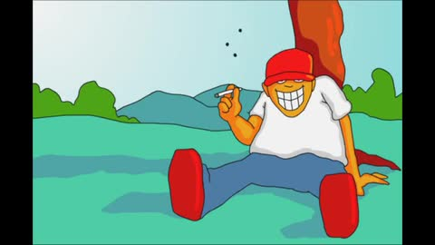 Stone Flies 1 - Joe Cartoon
