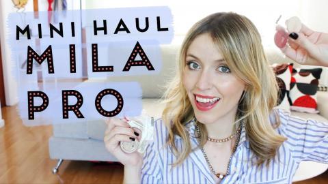HAUL ♡ Compritas de Makeup - MILA PRO ♡ - FashionistARG