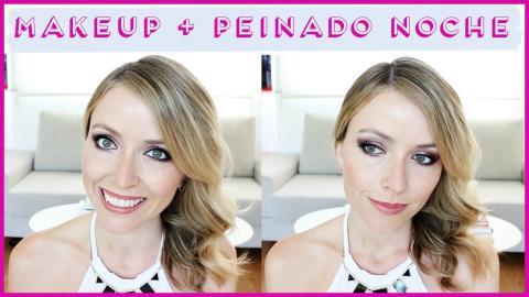 ♥ Tutorial 2x1   Makeup & Peinado de NOCHE! ♥ - FashionistARG