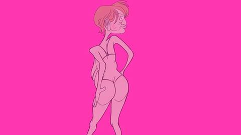 Joe Twoshacks - Four Old Ladies - Joe Cartoon