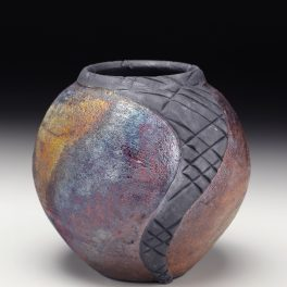 Judi Harwood, The Village Potters, Asheville NC, River Arts District, Pottery, Sculpture, Raku