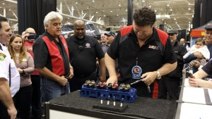 Andy Fiffick and Jay Leno at Rad Air Piston Power Show