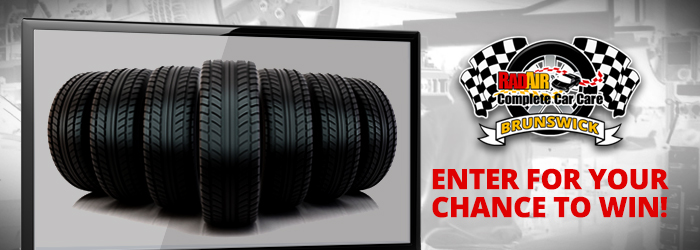 Tire and TV Giveaway