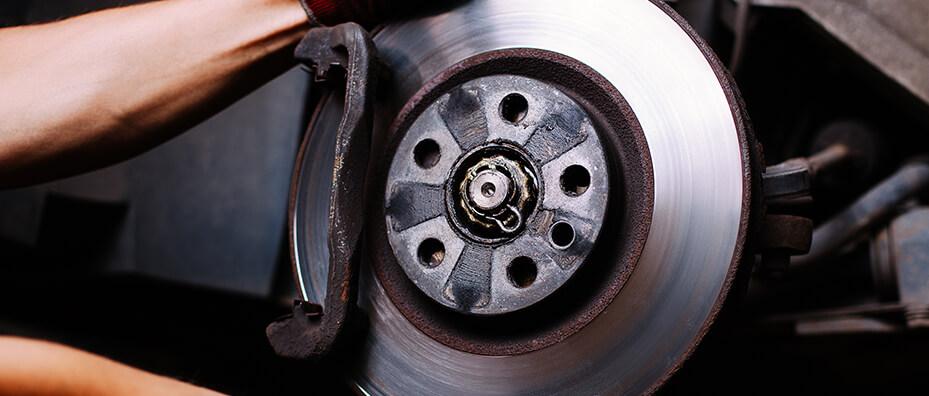 repairing car brake