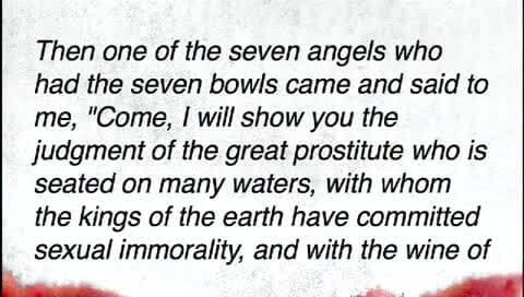the prostitute in revelation