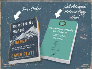 Something Needs to Change Pre-Order Copy - Advance Copy Offer