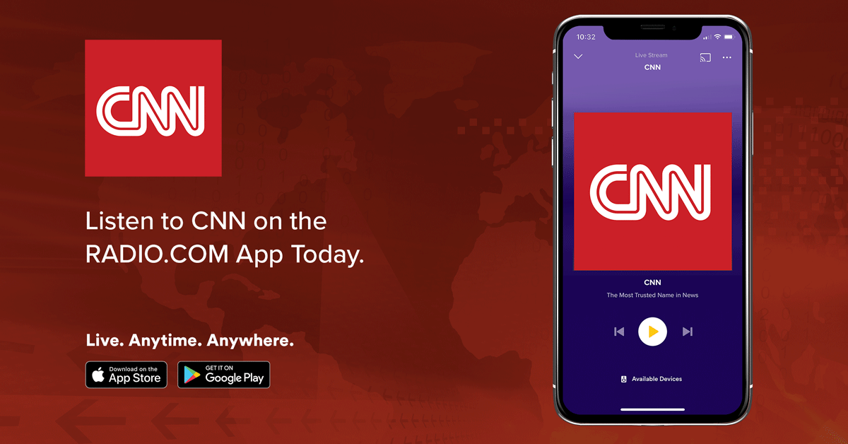 Cnn On Radio Com Listen To Free Radio Online Music Sports News Podcasts
