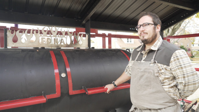 Aaron Patin of Iron Grate BBQ