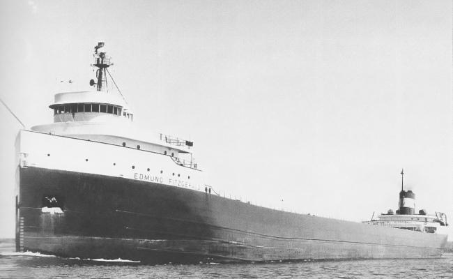 The SS Edmund Fitzgerald