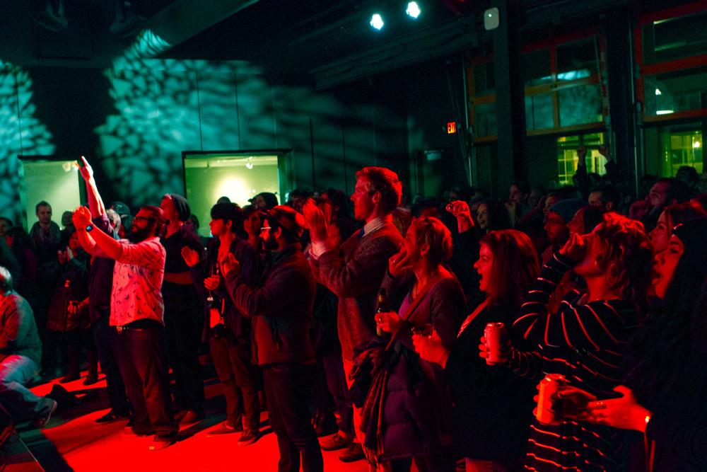 crowd at Radio Milwaukee Music Awards 2015