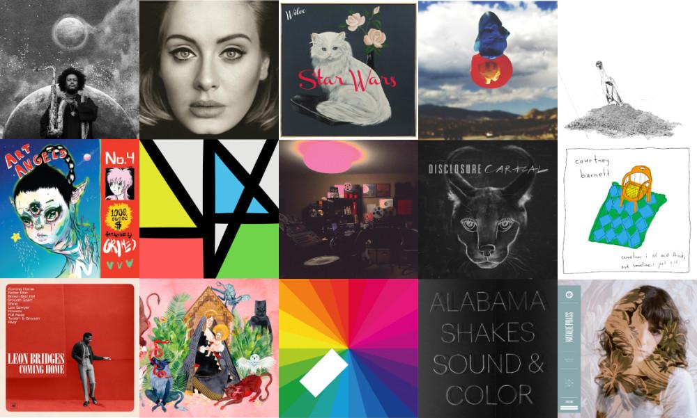 Top 10 Albums 2015