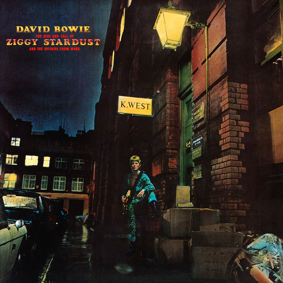 David Bowie - Ziggy Stardust Cover