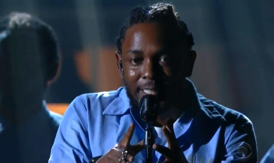Kendrick Lamar at Grammys