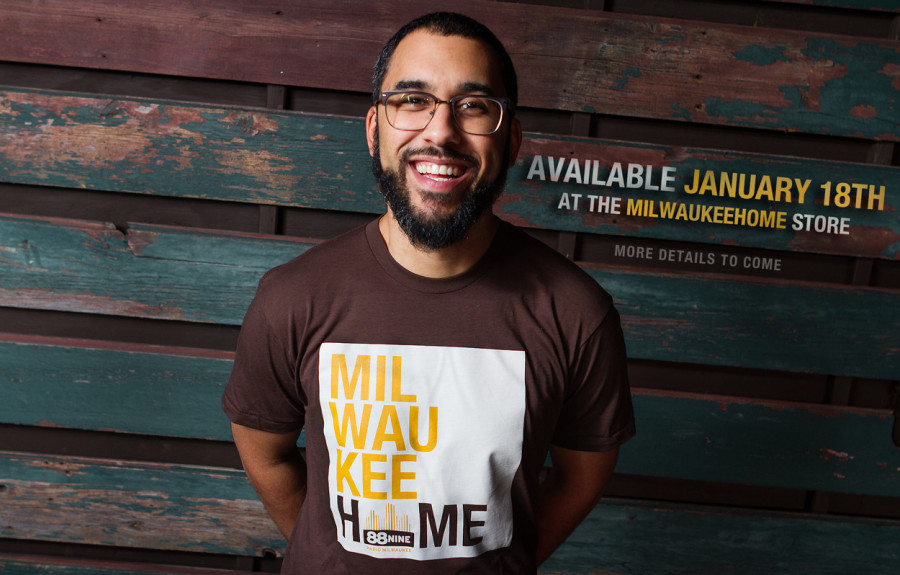 Milwaukee Home and 88Nine T-Shirt