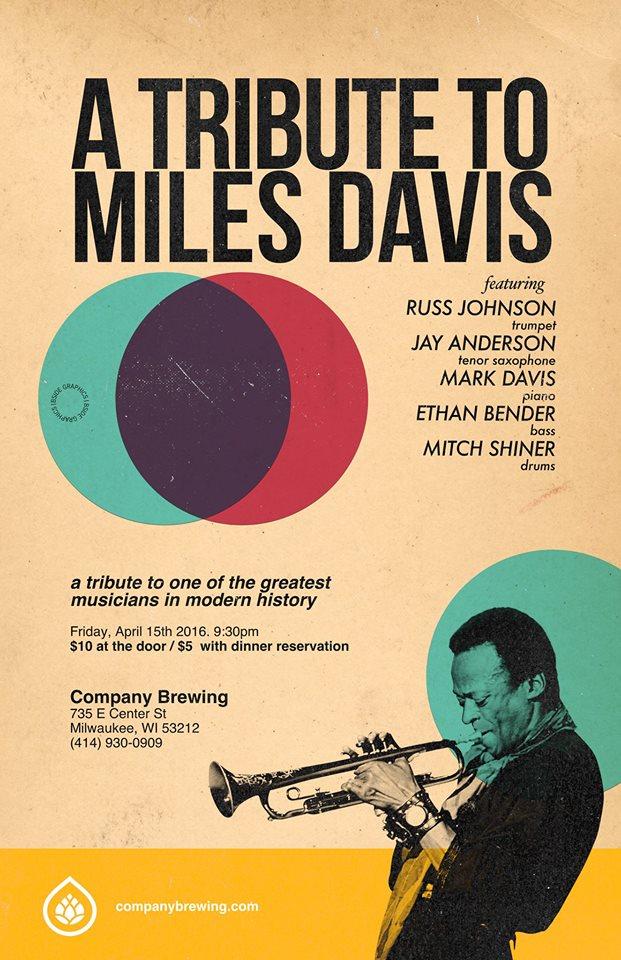Miles Davis Tribute Poster