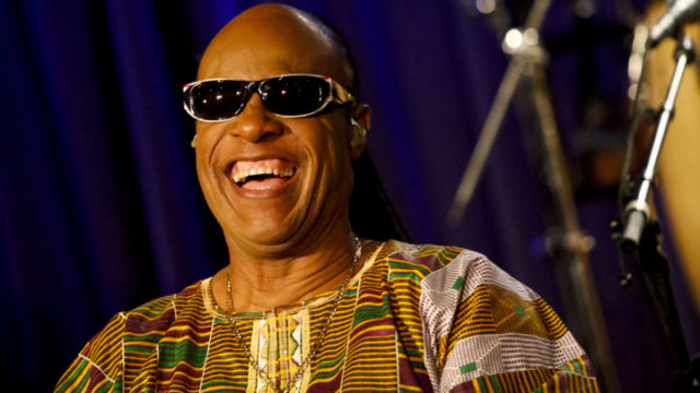 LOS ANGELES, CA - SEPTEMBER 10:  Stevie Wonder attends his press tour announcement at The GRAMMY Museum on September 10, 2014 in Los Angeles, California.  (Photo by Tibrina Hobson/FilmMagic)