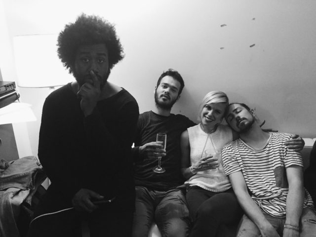Peter Cottontale, Grace Weber, Donnie Trumpet, and Nate Fox