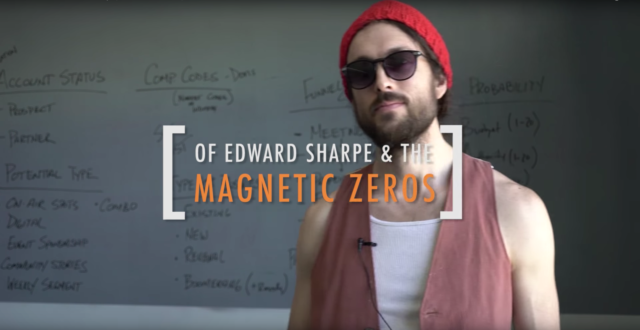 interview with Edward Sharpe and the Magnetic Zeros