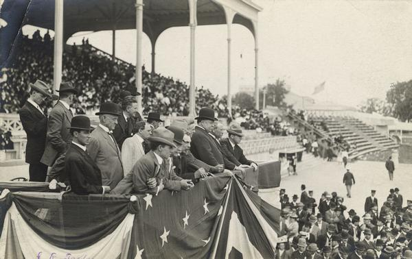 President Taft visits the Wisconsin State Fair
