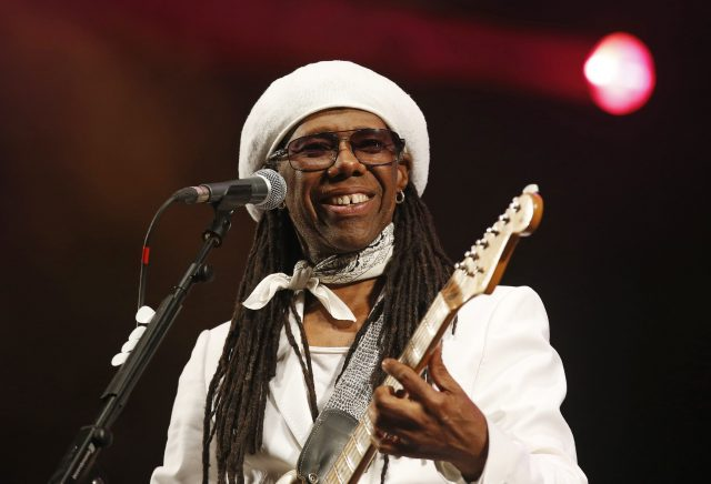 Nile Rodgers performs with his band Chic on the third day of the Glastonbury music festival at Worthy Farm in Somerset June 28, 2013. REUTERS/Olivia Harris (BRITAIN - Tags: ENTERTAINMENT)