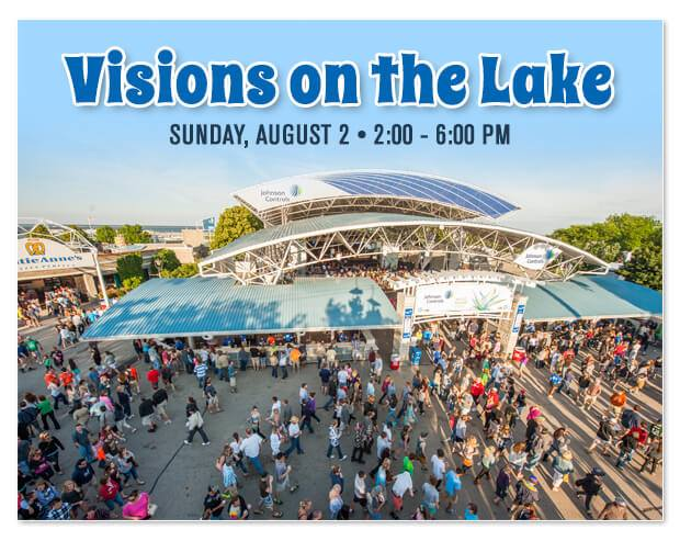 Visions on the Lake 2015 promotional image.