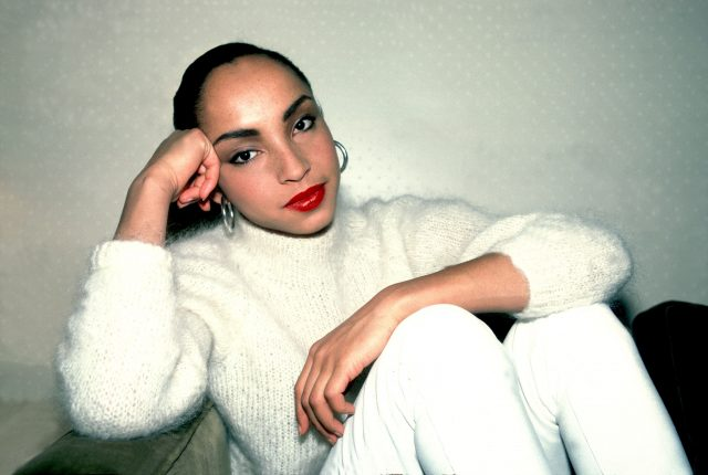 Sade on 1/27/85 in Chicago, Il. (Photo by Paul Natkin/WireImage)
