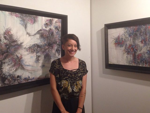 Grab a piece of local artwork this Friday at Var Gallerys two-year anniversary. Pictured: Var artist Nykoli Koslow
