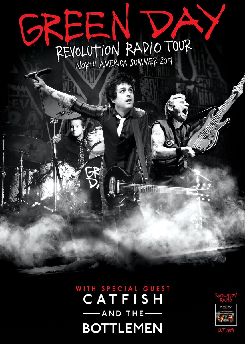 Green Day Revolution Radio Tour 2017