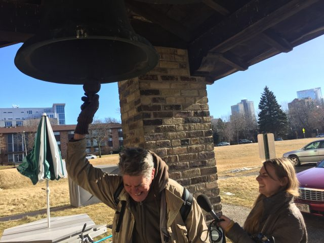 Horne and Boettcher give the Convent Hill bells on the East Side a ring.