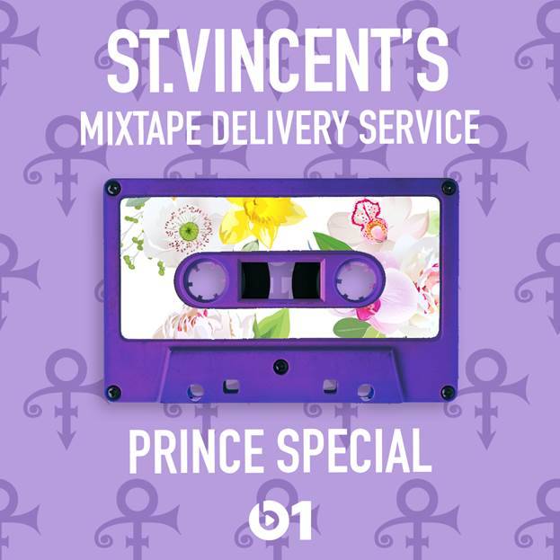 St. Vincent's tribute to Prince