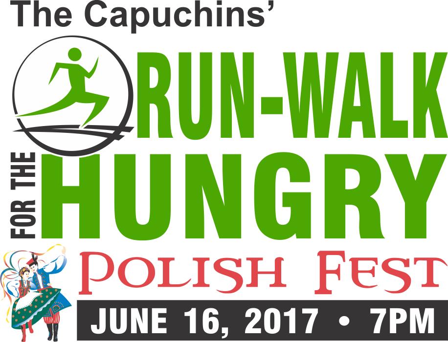 2017 Run Walk Logo with Polish Fest