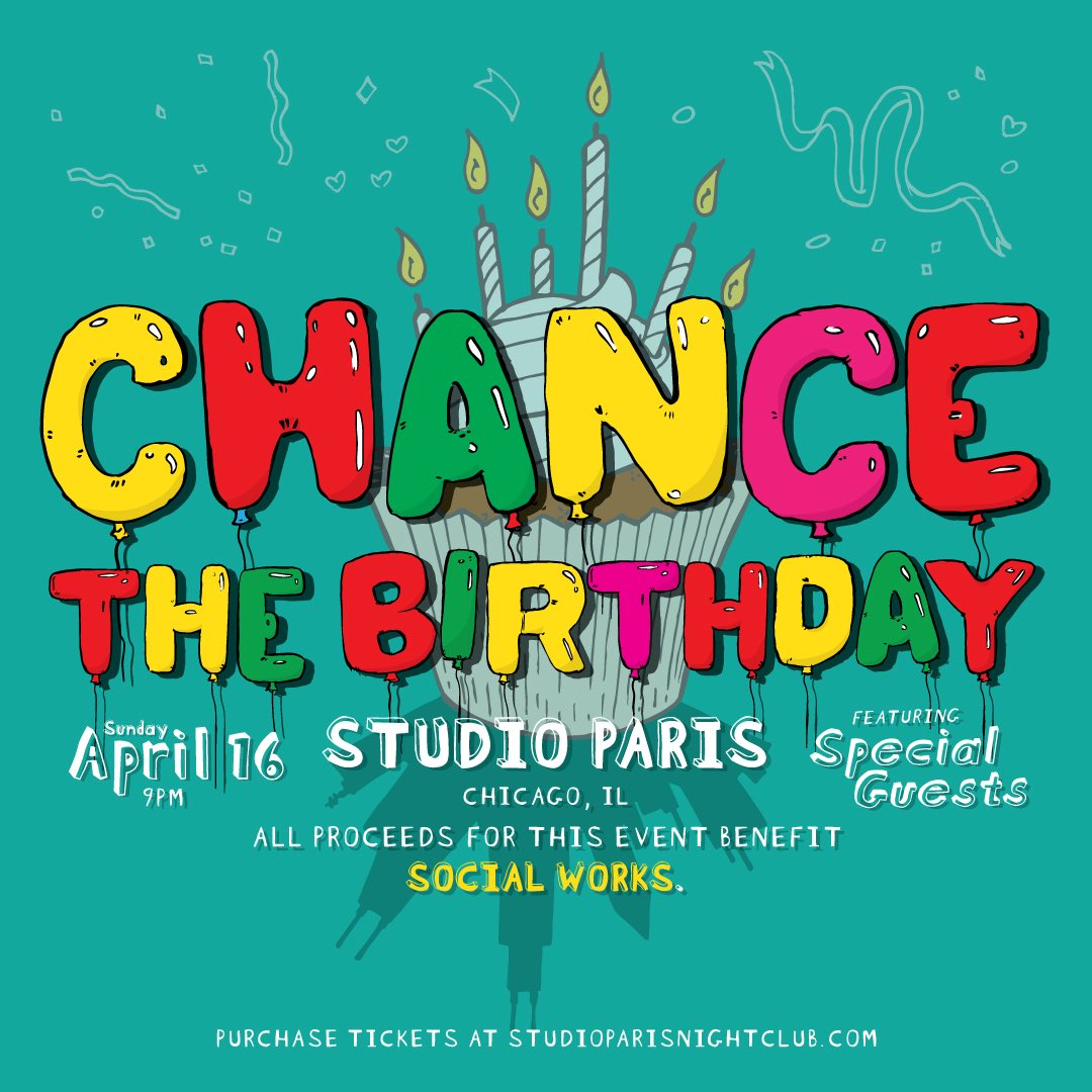 Chance the Rapper Birthday Party