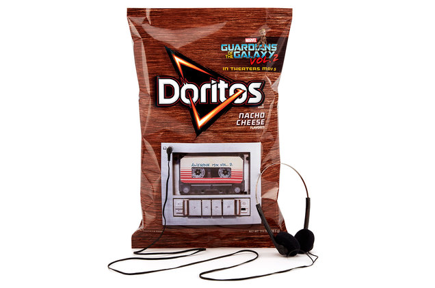 Doritos bag tape deck