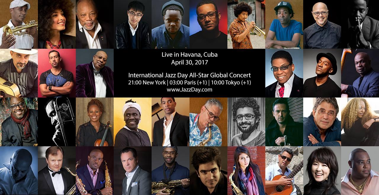 International Jazz Day Global Concert in Havana, Cuba