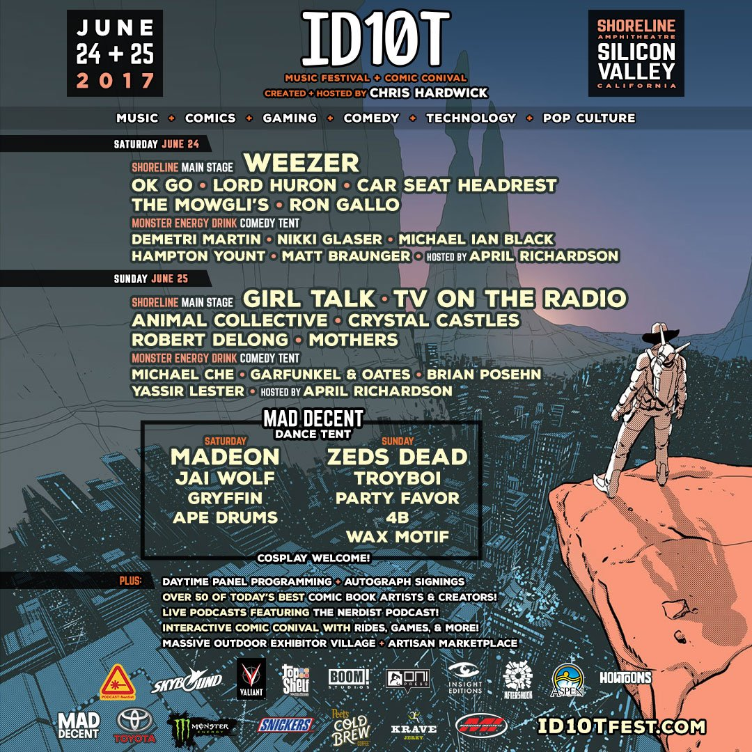 ID10T Music and Comedy Festival