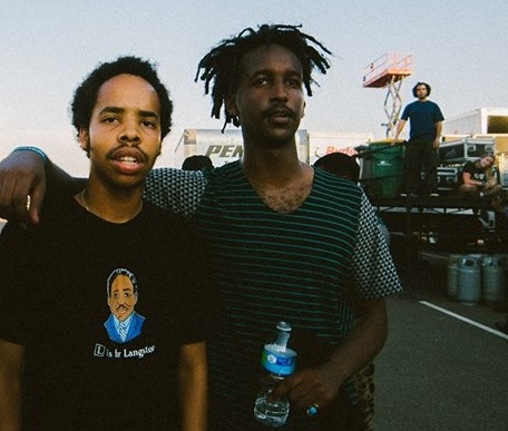 Earl Sweatshirt and WebsterX at Summer Set 2015