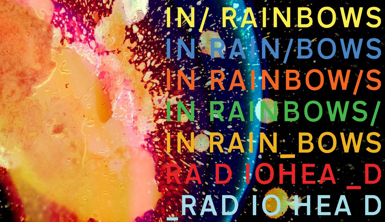 Image result for in rainbows