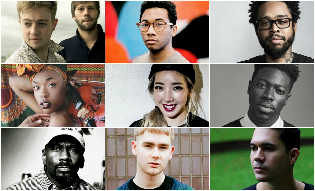 Rhythm Lab Radio July 14, Sudan Archives, TOKiMONSTA, Sudan Archives, Moses Sumney, Mura Masa, Mount Kimbie