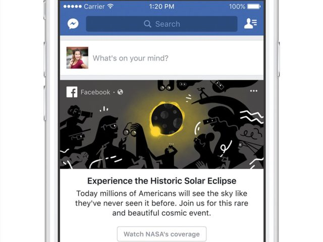 Facebook Solar Eclipse